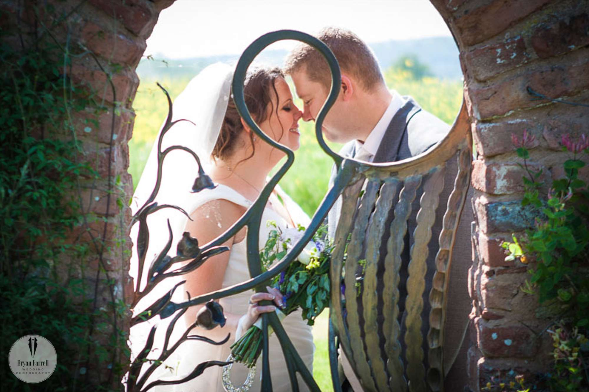 Malvern Hills Wedding - Birtsmorton Court